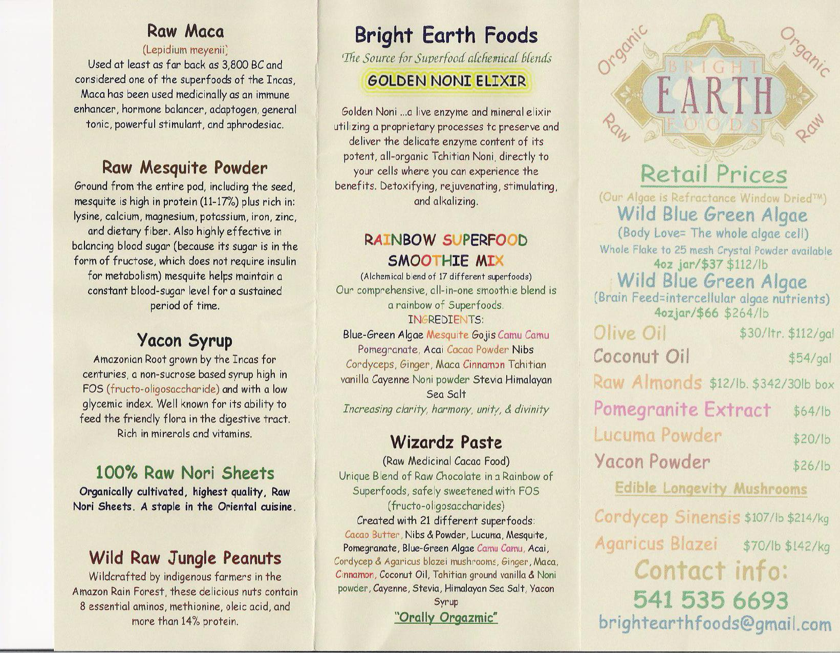 Bright Earth Foods Broch2